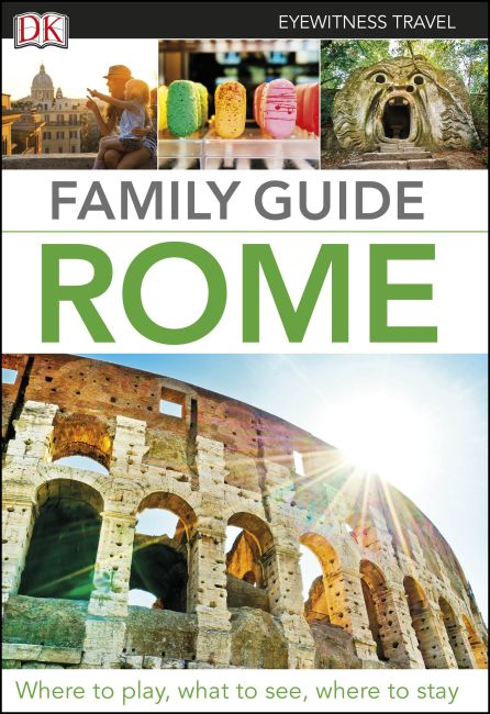 Flexibound cover of DK Eyewitness Family Guide Rome