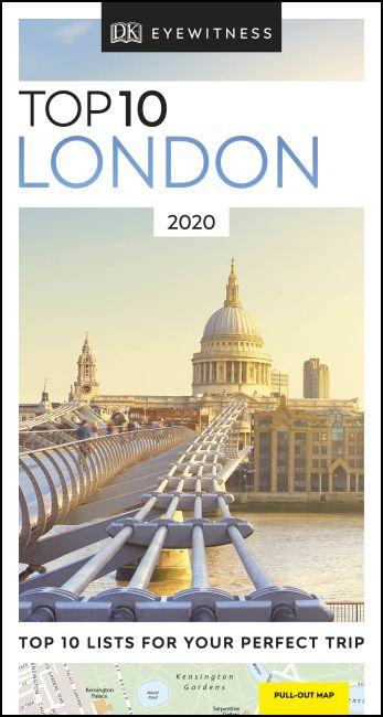Paperback cover of DK Eyewitness Top 10 London