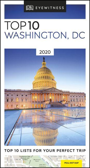 Paperback cover of DK Eyewitness Top 10 Washington, DC