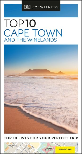 Paperback cover of DK Eyewitness Top 10 Cape Town and the Winelands