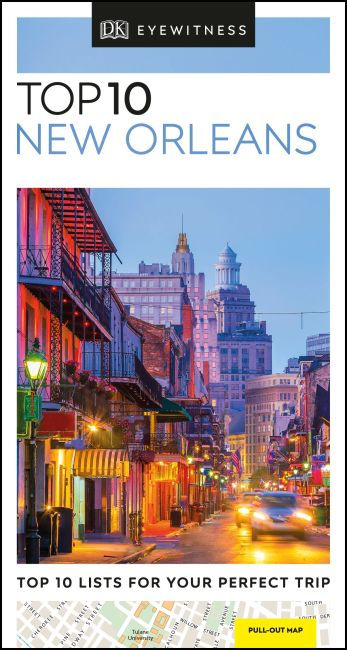 Paperback cover of DK Eyewitness Top 10 New Orleans