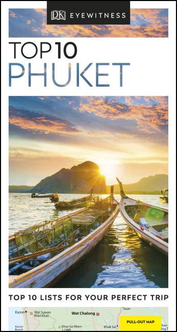 Paperback cover of DK Eyewitness Top 10 Phuket