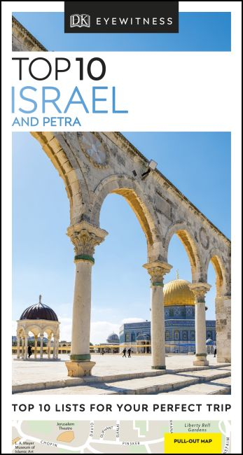 Paperback cover of DK Eyewitness Top 10 Israel and Petra