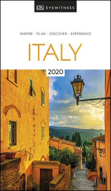 Paperback cover of DK Eyewitness Italy