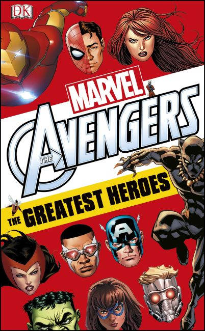 eBook cover of Marvel Avengers The Greatest Heroes: World Book Day 2018