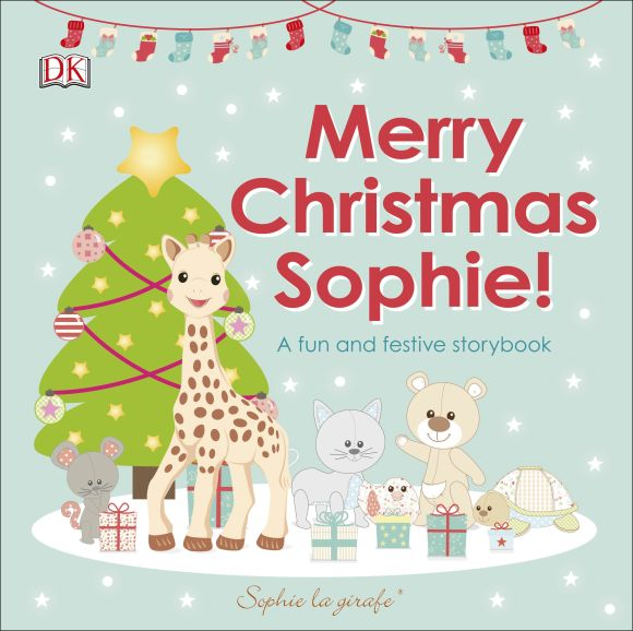 Board book cover of Merry Christmas Sophie