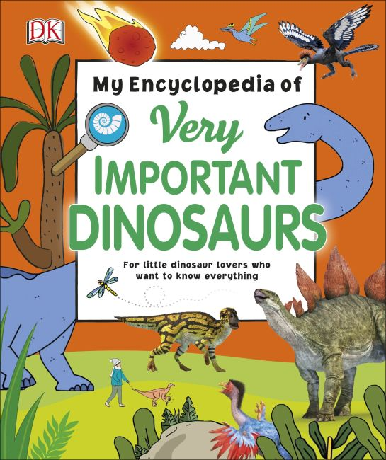 eBook cover of My Encyclopedia of Very Important Dinosaurs