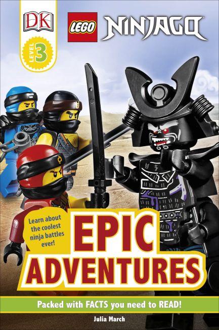 Hardback cover of LEGO NINJAGO Epic Adventures