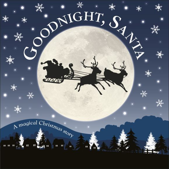 Board book cover of Goodnight, Santa