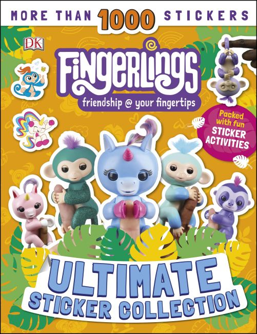 Paperback cover of Fingerlings Ultimate Sticker Collection