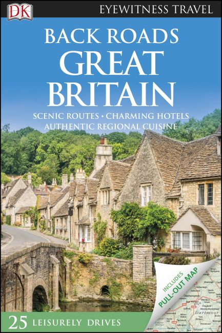 Flexibound cover of DK Eyewitness Back Roads Great Britain