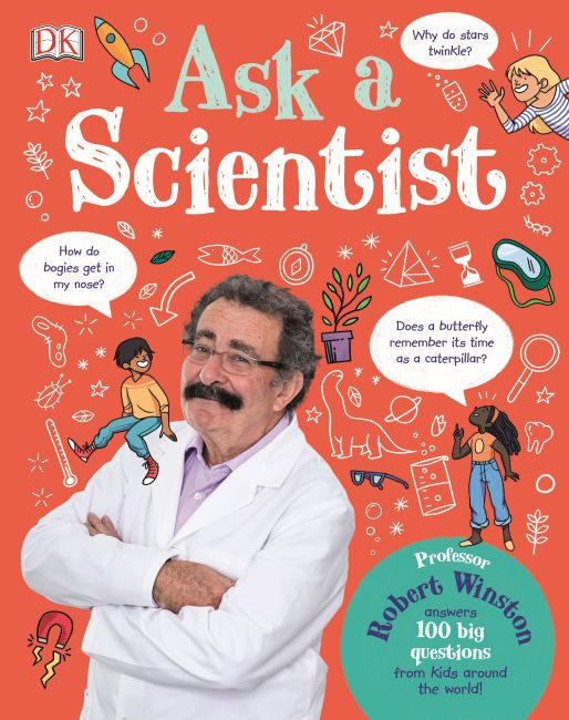 Hardback cover of Ask A Scientist