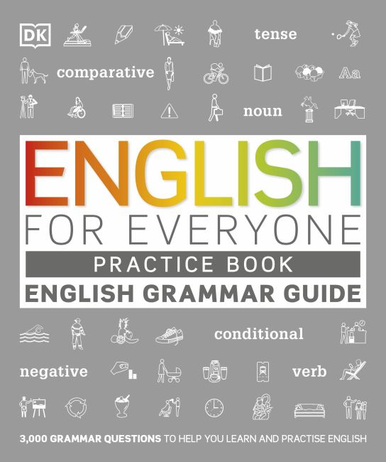 Paperback cover of English for Everyone English Grammar Guide Practice Book