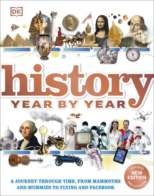 Hardback cover of History Year by Year