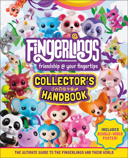 Hardback cover of Fingerlings Collector's Handbook