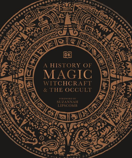 Hardback cover of A History of Magic, Witchcraft and the Occult