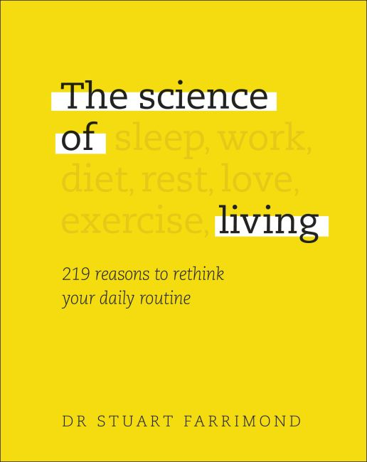 Hardback cover of The Science of Living