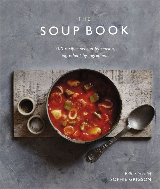 Hardback cover of The Soup Book