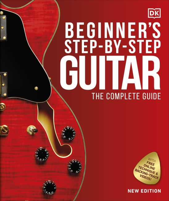 Hardback cover of Beginner's Step-by-Step Guitar