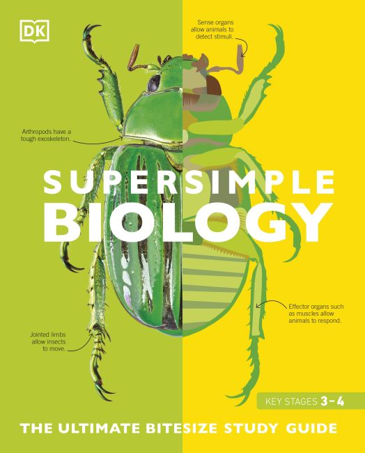 Paperback cover of SuperSimple Biology