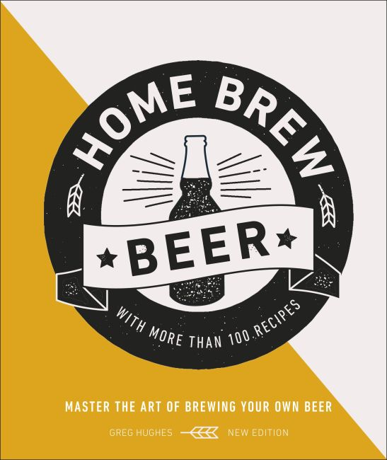 Hardback cover of Home Brew Beer