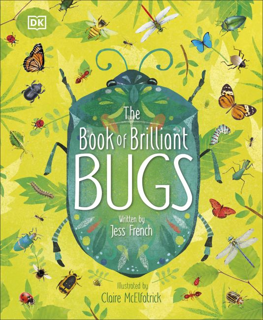 Hardback cover of The Book of Brilliant Bugs