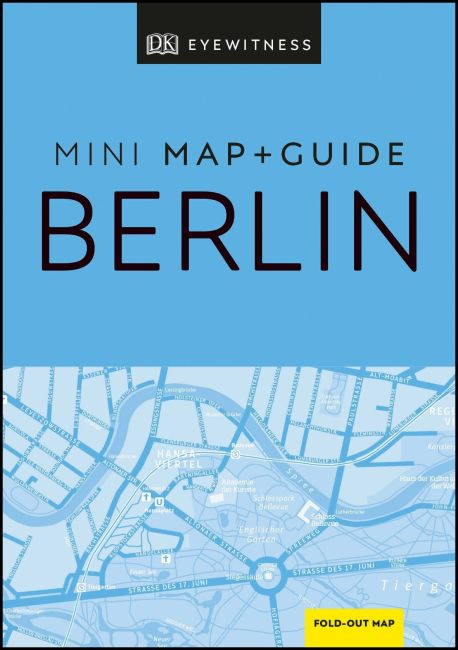 Paperback cover of DK Eyewitness Berlin Mini Map and Guide