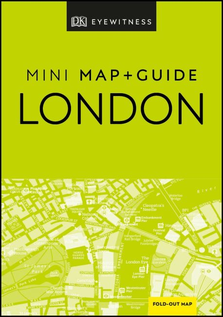 Paperback cover of DK Eyewitness London Mini Map and Guide