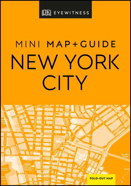 Paperback cover of DK Eyewitness New York City Mini Map and Guide