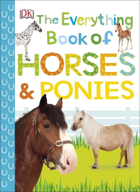 eBook cover of The Everything Book of Horses and Ponies