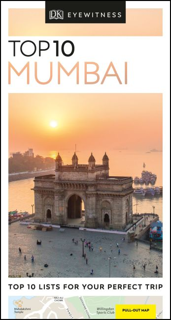 Paperback cover of DK Eyewitness Top 10 Mumbai