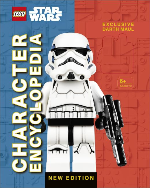 Hardback cover of LEGO Star Wars Character Encyclopedia New Edition