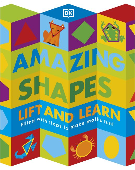 Board book cover of Amazing Shapes