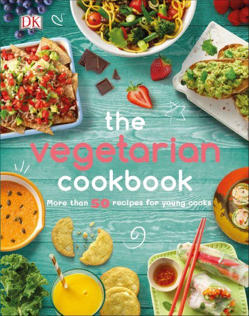 Hardback cover of The Vegetarian Cookbook