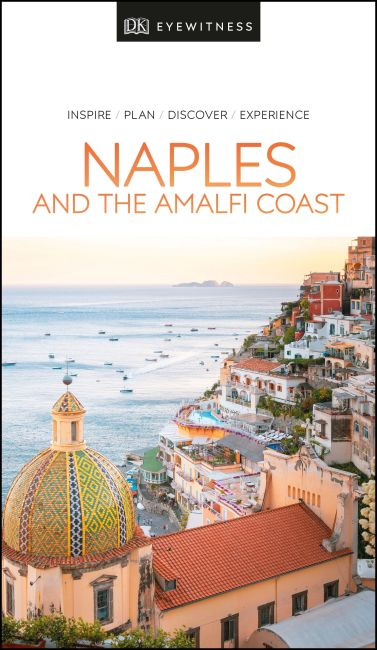 Paperback cover of DK Eyewitness Naples and the Amalfi Coast