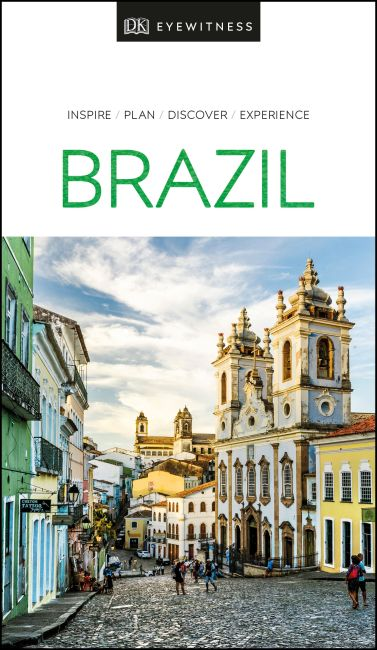 Paperback cover of DK Eyewitness Brazil