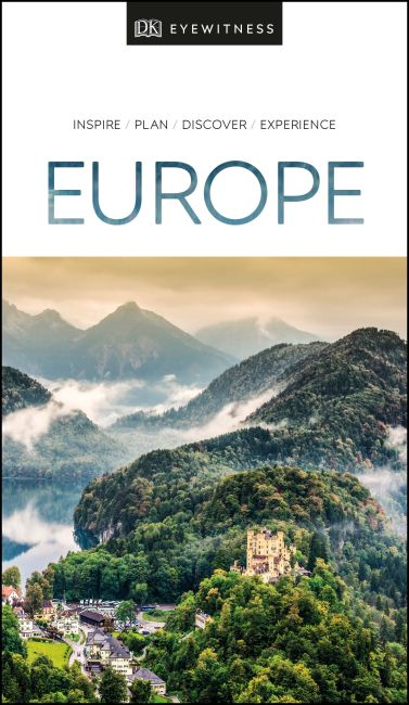 Paperback cover of DK Eyewitness Europe