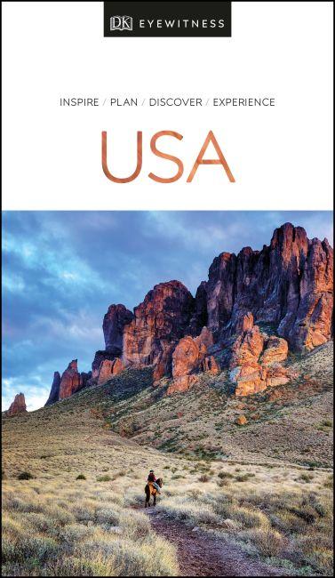 Paperback cover of DK Eyewitness USA