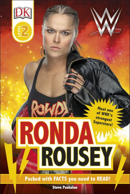 Hardback cover of WWE Ronda Rousey