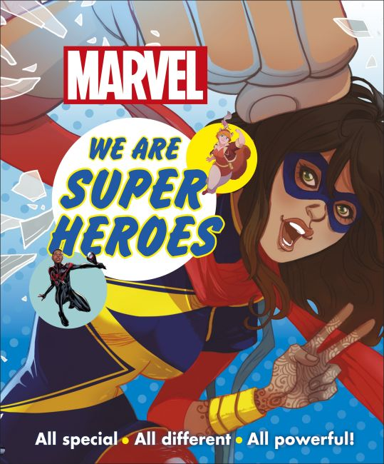 Paperback cover of Marvel We Are Super Heroes!