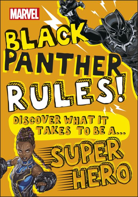 Paperback cover of Marvel Black Panther Rules!