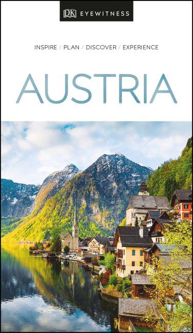Paperback cover of DK Eyewitness Austria