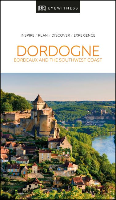 Paperback cover of DK Eyewitness Dordogne, Bordeaux and the Southwest Coast