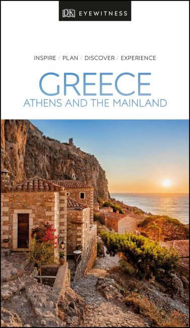 Paperback cover of DK Eyewitness Greece, Athens and the Mainland