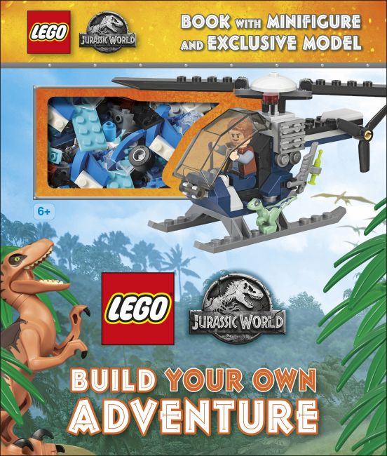 Hardback cover of LEGO Jurassic World Build Your Own Adventure