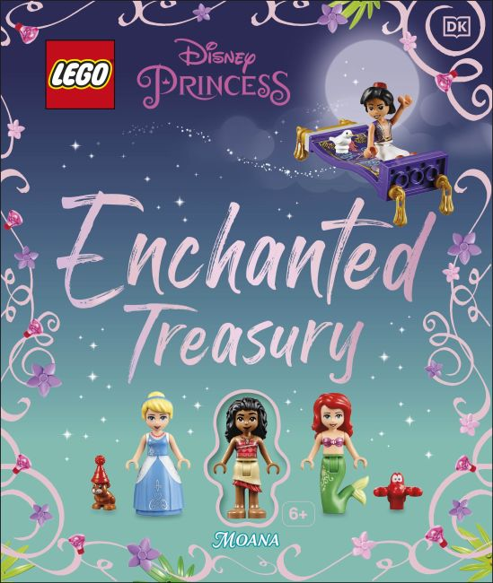 Hardback cover of LEGO Disney Princess Enchanted Treasury