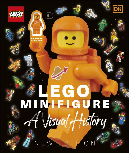 Hardback cover of LEGO® Minifigure A Visual History New Edition