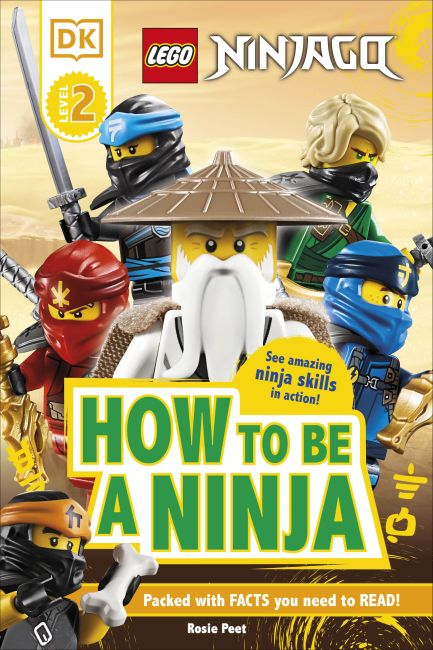 Hardback cover of LEGO NINJAGO How To Be A Ninja