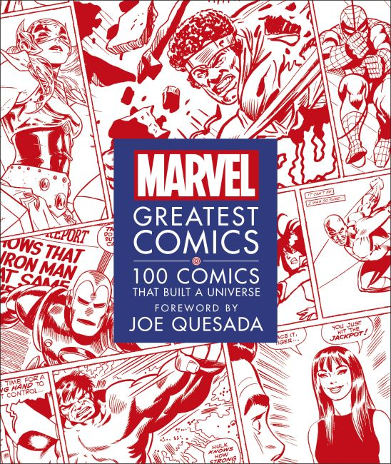Hardback cover of Marvel Greatest Comics