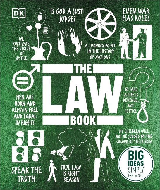 Hardback cover of The Law Book